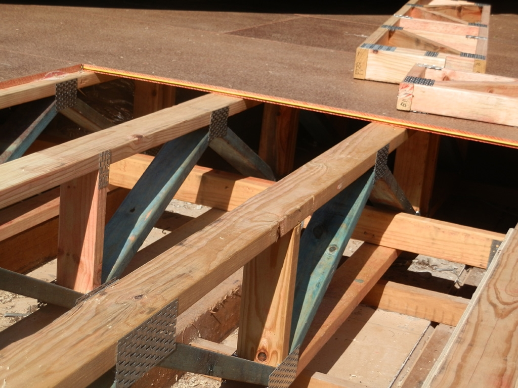 Prefabricated Floor Trusses Brisbane | Beaudesert Frame ...