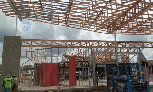Roof Trusses 2